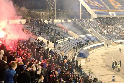 В Воронеже подсчитали ущерб от драки фанатов «Динамо» и «Факела»