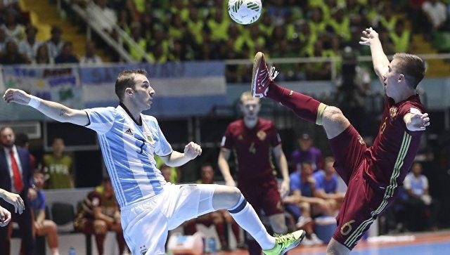 Сборная России по мини-футболу проиграла Аргентине в финале чемпионата мира