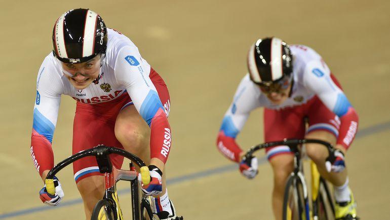 Выпускницы СГАФКСТ завоевали две медали на чемпионате Европы по велотреку