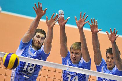 Волейболисты «Зенита» второй раз подряд проиграли в финале клубного ЧМ