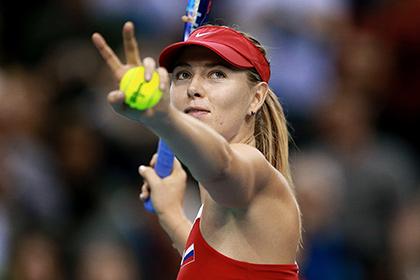 В WTA объяснили исключение Шараповой из рейтинга