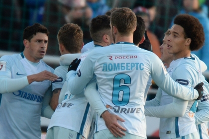«Зенит» победил в матче Лиги Европы в Ирландии