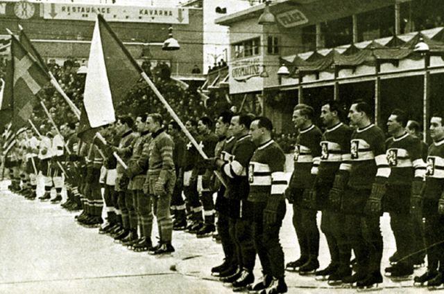 Хоккей. Чемпионат мира по хоккею с шайбой 1932 года.