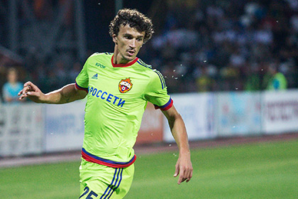ЦСКА обжалует решение УЕФА о дисквалификации Еременко из-за кокаина