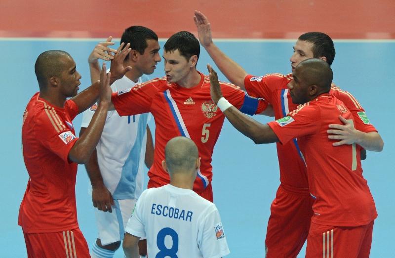 Смоляне увидят сборную России по мини-футболу