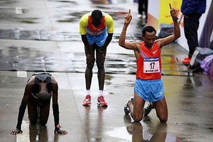 Ошибка полицейских лишила кенийца рекорда Люблянского марафона