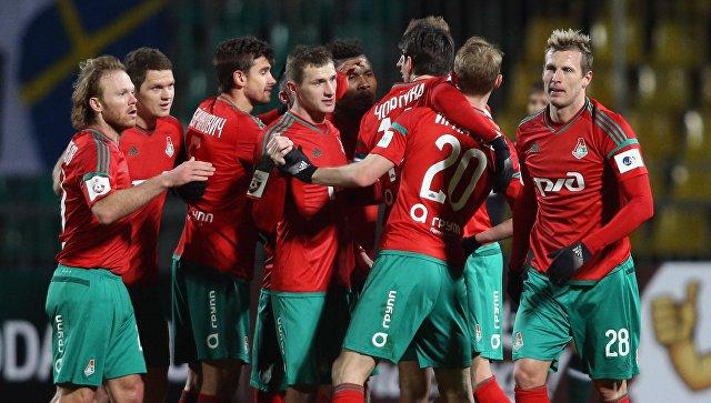 Футболисты «Локомотива» разгромили «Томь» в матче 16-го тура РФПЛ