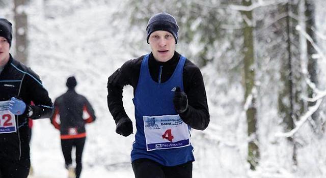Рославльчанин Василий Ларкин выиграл марафон в Зеленограде