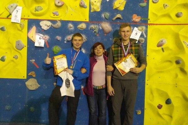Скалолазы из Смоленска стали призёрами столичных соревнований