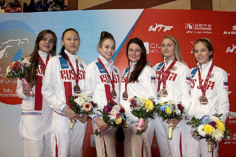 Студентка смоленского училища олимпийского резерва стала бронзовым призером чемпионата мира по тхэквондо