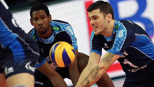 Волейболисты казанского «Зенита» выиграли Кубок России