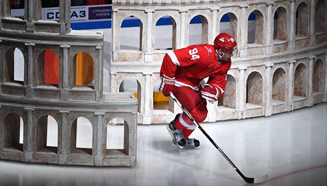Хоккеисты «Спартака» одержали минимальную победу над «Ак Барсом»
