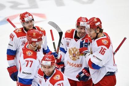 Россия обыграла Финляндию на Кубке Первого канала по хоккею