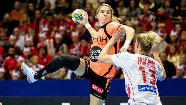 Гандболистки Норвегии победили команду Нидерландов в финале ЧЕ