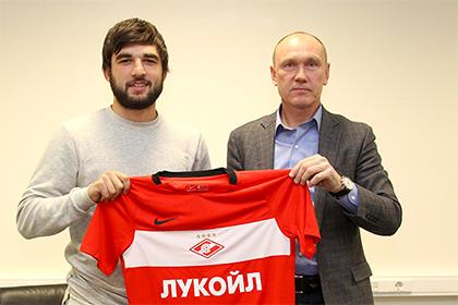 Защитник сборной России перешел в «Спартак»
