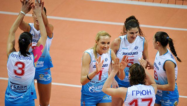 Волейболистки московского «Динамо» вышли в финал Кубка России