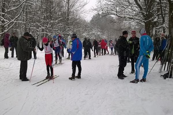 В Смоленске соревновались юные лыжники