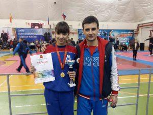 Смолянка завоевала «золото» на турнире по тхэквондо в Твери