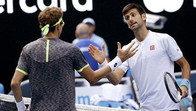 Новак Джокович уступил Денису Истомину во втором круге Australian Open-2017