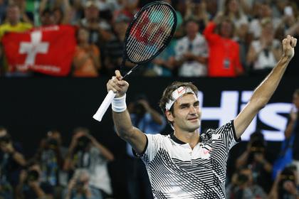 Федерер вышел в четвертьфинал Australian Open
