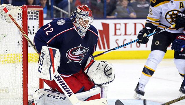 Россиянин Сергей Бобровский признан игроком месяца в НХЛ