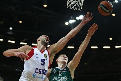 Литовский «Жальгирис» впервые в истории обыграл ЦСКА в Евролиге