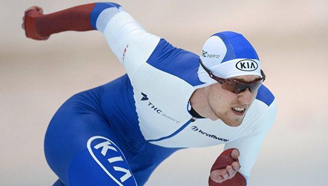 Конькобежец Голубев завоевал золото на дистанции 1,5 км на Универсиаде