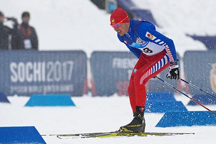 Российские военные спортсмены выиграли медальный зачет в лыжных гонках в Сочи