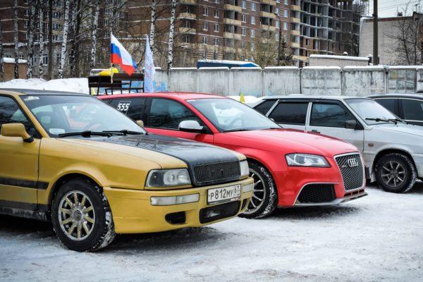 В Смоленске устроили первенство по скоростному маневрированию «Зима-2017»