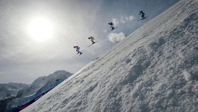Российские фристайлистки выиграли все медали в ски-кроссе на Универсиаде
