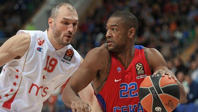 Баскетболисты ЦСКА разгромили «Црвену Звезду» в матче Евролиги