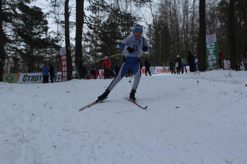 В Смоленской области в Блинных Кучах встали на лыжи