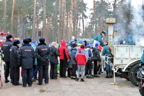 В Смоленске на «Лыжне России» будут работать полевая кухня и пункт обогрева