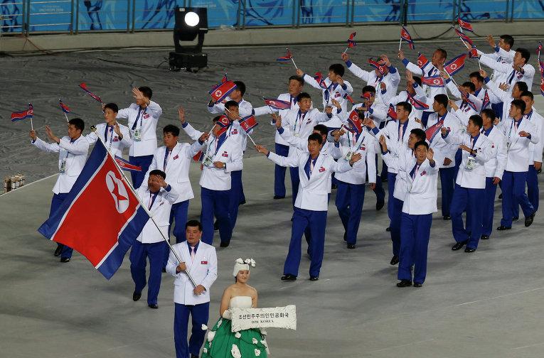 СМИ: спортсмены из КНДР приедут на Азиатские игры, несмотря на санкции