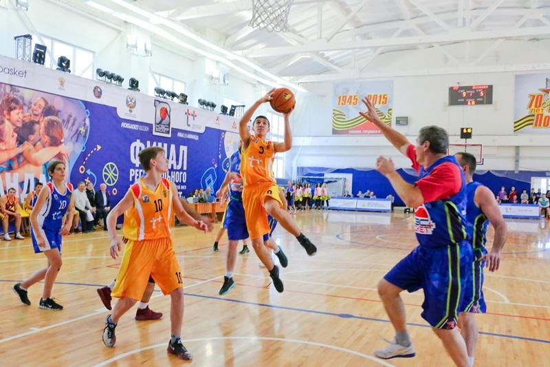 В Смоленске прошел финал баскетбольной лиги «КЭС-Баскет»