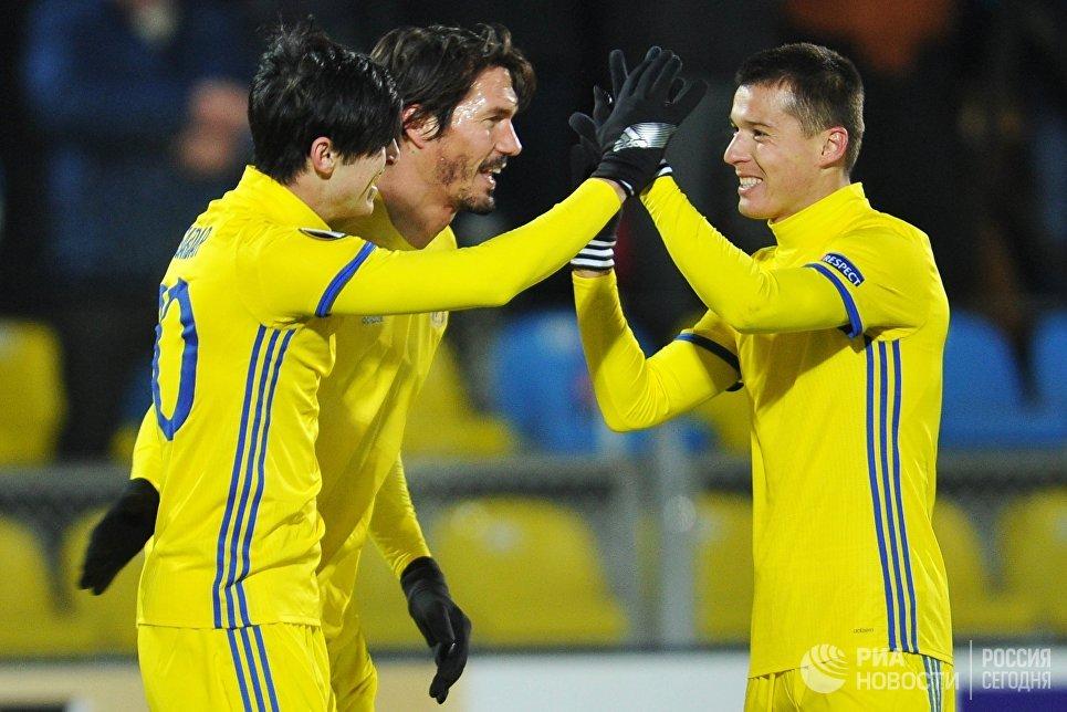 «Ростов» разгромил «Спарту» в первом матче плей-офф Лиги Европы