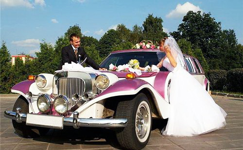 Как арендовать автомобили на свадьбу