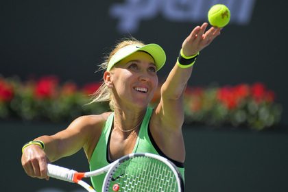 Российская теннисистка Веснина выиграла турнир в Индиан-Уэллсе