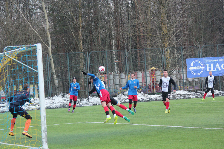 ЦРФСО сыграл вничью с брянским «Динамо»
