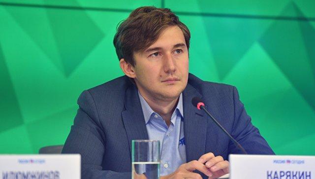 Карякин откроет шахматную школу в Симферополе