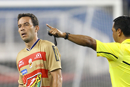 Игрок мексиканского клуба попросил судью отменить ошибочно назначенный пенальти