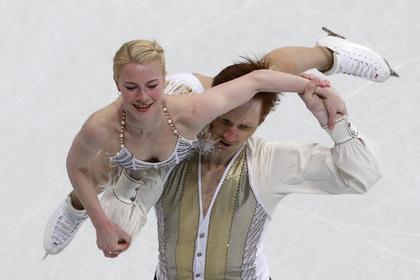 Россияне Тарасова и Морозов стали третьими по итогам короткой программы на ЧМ