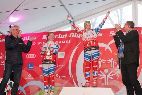Смоленской спортсмены принесли сборной России 10 медалей на Всемирной зимней Специальной Олимпиаде