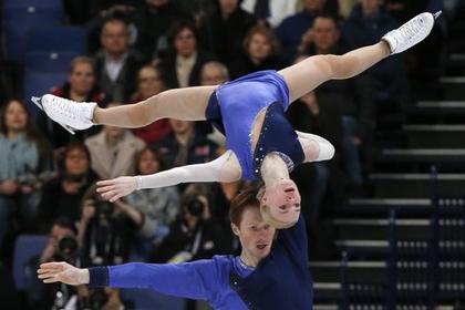 Российские фигуристы Тарасова и Морозов завоевали бронзу чемпионата мира