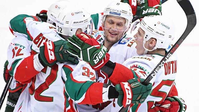 «Ак Барс» победил «Салават Юлаев» и вышел в 1/4 финала плей-офф КХЛ