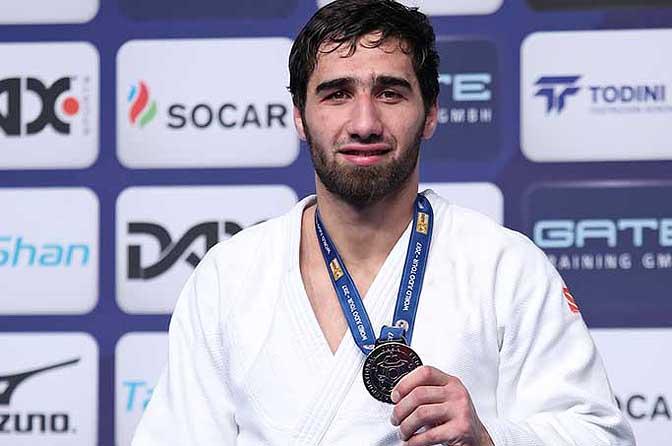 Студент смоленского училища олимпийского резерва завоевал «серебро» на Международном турнире по дзюдо