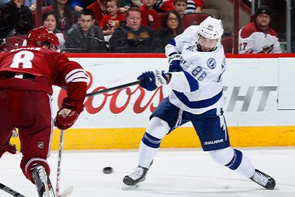 Кучеров стал первой звездой недели в НХЛ