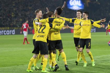 Дортмундская «Боруссия» вышла в 1/4 финала Лиги чемпионов