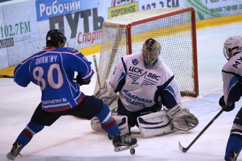Смоленский «Славутич» разгромил ЦСК ВВС во втором матче 1/4 финала