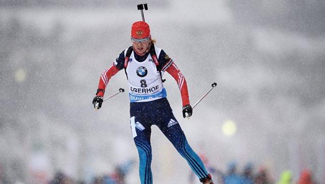 Биатлонистка Глазырина не сможет выступить на чемпионате России